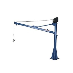 New Dc Powered Pickup Trailer Truck Jib Crane 1500 Lb
