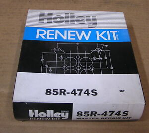 New Holley Carburetor Master Overhaul Kit For 1957 Ford Or Thunderbird