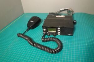 Ef Johnson 242 9896 208d Two Way Radio No Power Cable 900 Mhz Vhf Uhf _ham