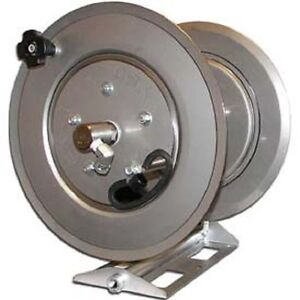 New Stainless Steel Pressure Washer Hose Reel 3500 Psi 250 Capacity