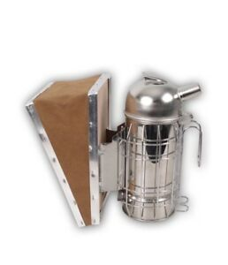 Set Of 2 Bee Smoker German Design For Beekeeper Heavy Duty Stainless Steel