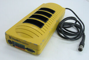 Trimble Navigation 20669 50 4 Slot Battery Charger With Cable For Surveying
