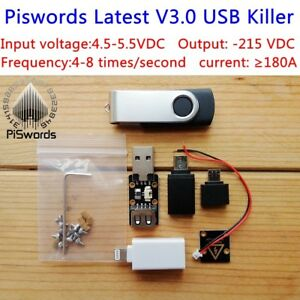 Latest Usb Killer V3 0 U Disk Killer Miniature Power Module High Voltage Pulse