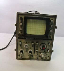 Hp An usm 281a Oscillopscope Os0189a p usm 281 1 Bad Channel Vintage