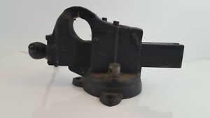 Vintage Parker 271 1 2 Swivel Bench Vise Jaws Open To 5 Inches