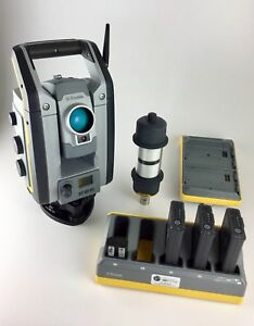 Trimble S7 Dr 3 Robotic Reflectorless Total Station At360 Target Power Kit