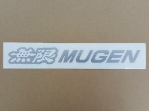 Jdm Brand New Mugen Sticker Decals Ef8 Ef9 Crx Integra Civic Accord Rsx 20 2 6cm