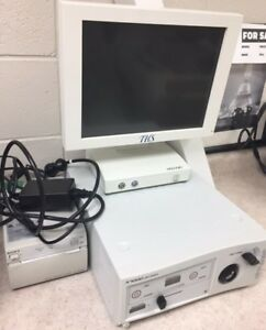 Stryker X7000 Light Source W Bulb 6 Hours And Light Cable W monitor And Printer