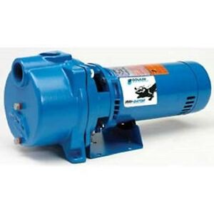 New Goulds Pump Self Priming Centrifugal 1 1 2 Hp