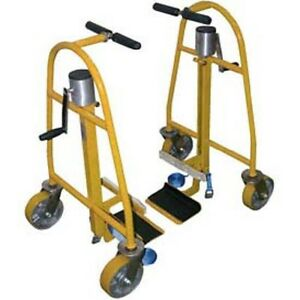 New Hand Operated Mechanical Furniture Equipment Moving Dolly 1300 Lb Cap