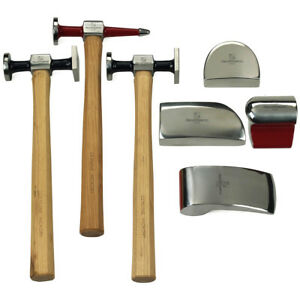 Gearwrench 82302 7 Piece Autobody Hammer And Dolly Set With Free Shipping