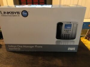 Linksys One Manager Phone Phm1200 Cisco Systems Color Display 24 Programmable