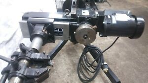 On Car Brake Lathe Hunter Ocl 430md Truck Bus Lathe Loaded With Adapters