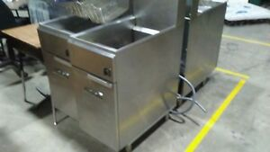 Imperial Range Ifs 50 e 50lb Electric Floor Model Deep Fryer