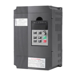 Single 3 phase Motor Governor Variable Frequency Drive Inverter Cnc 220 380v Lj