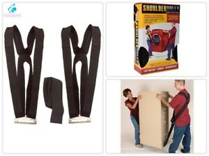 2 Person Lifting Moving System Straps And Harnesses For 2 Movers Handling Tool