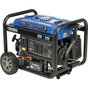 New 3000 Watts Portable Generator Gasoline Electric recoil Start 120v