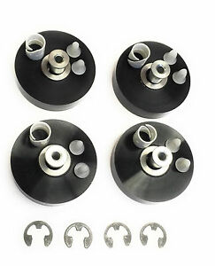 Rotary Lift Oem Wheel Kit For Rolling Jacks Rolling Bridge Sb100005 Set Of 4