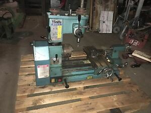 Used Smithy Bench Top Milling Machine Lathe Db 122 oxc