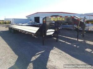 2018 Big Tex Trailer 22gn 35 x102 Hd Hydraulic Tail Flat Bed