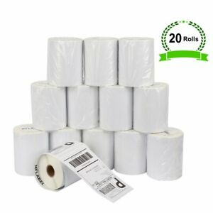 20 Rolls Of 220 4x6 Thermal Shipping Labels Compatible Dymo 1744907 4xl Ebay Ups
