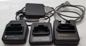 Morotola Minitor Programming Docks For Minitor Iii Iv And V Pagers Used