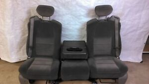 1999 2000 2001 2002 2003 2004 Ford F250 F350 Super Duty Front Seat Set Jump Seat
