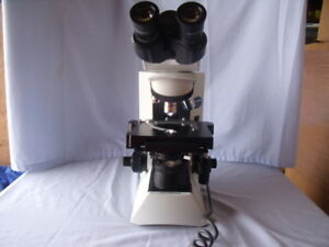 Olympus Cx 31 Microscope W Eyepieces objectives Biological scientific research