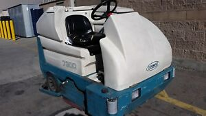 2006 Tennant Sweeper Ride On 7300 Without Charger