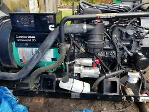 20kw Cummins Generator 1ph Diesel Commercial Mobile Generator