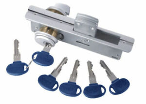 New Security Front Door Mortise Deadbolt Lock With Brass Cylinders Adams Lc1