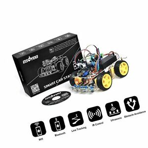 Osoyoo Robot Smart Car For Arduino Diy Learning Kit With Tutorial Android Wif