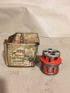 Brand New Ridgid 36875 1 8 Die Head For Oo r Manual Threader Rigid