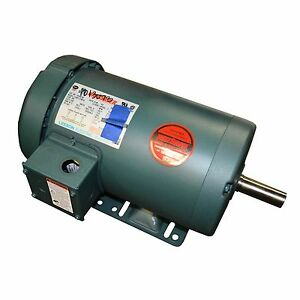 Leeson Motor 2hp 575 60hz 2 3 Amps 3 Phase 121942 00