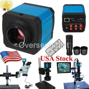 14mp 1080p Hdmi Usb C mount Digital Industry Video Microscope Camera Zoom Lens