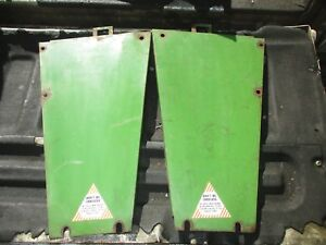 1970 6 Cylinder Oliver 1755 Diesel Farm Tractor Front Grill Panels Free Shipping