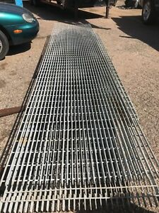 Smooth Surface Bar Grating Welded Bar Grating 19 w 4 Carbon Steel Grating 150 Sq