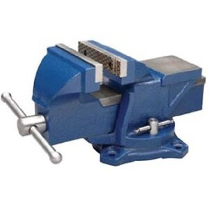 New Wilton General Purpose 4 Jaw Bench Vise With Swivel Base