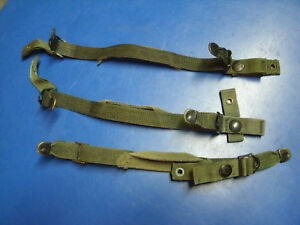 LOT OF 3 CHINSTRAPS FOR PASGT KEVLAR HELMET