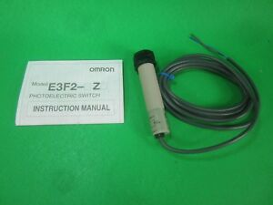 Omron Photoelectric Switch E3f2 3lz New