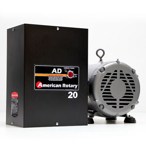 American Rotary Ad20 20hp 240v Wall Mount Ad Series Rotary Phase Converter