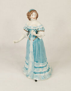 Antique French Sevres Porcelain Figure Of Madame De Montespan