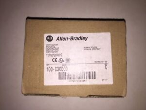 Allen Bradley Cat 100 c30d00 120v Coil New