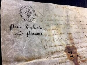Antique Parchment 1678
