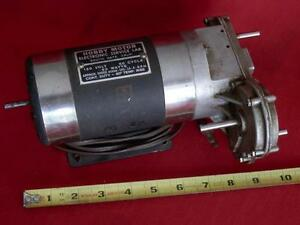 Vtg Hobby Motor W Gearbox 4 sp Gear Reduction 120v Electric 4000 150 25 5 Rpm
