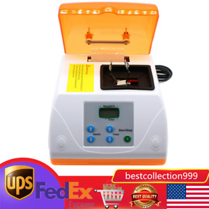 Dental Amalgamator High Speed Amalgam Capsule Mixer Blender 110v Usa
