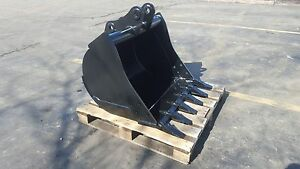 New 36 Komatsu Wb140 Backhoe Bucket With Coupler Pins