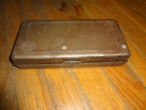 Vintage Whitney Metal Tool Co metal Punch No 5 Jr With Case Pat 5 24 13