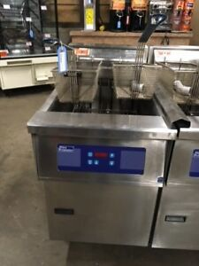 Pitco E18 Electric Deep Fryer 208v 3 Phase Works