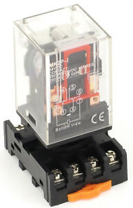 Ice Cube General Purpose Relay Socket Choose Voltage 8 Pin 11 Pin Ac Or Dc